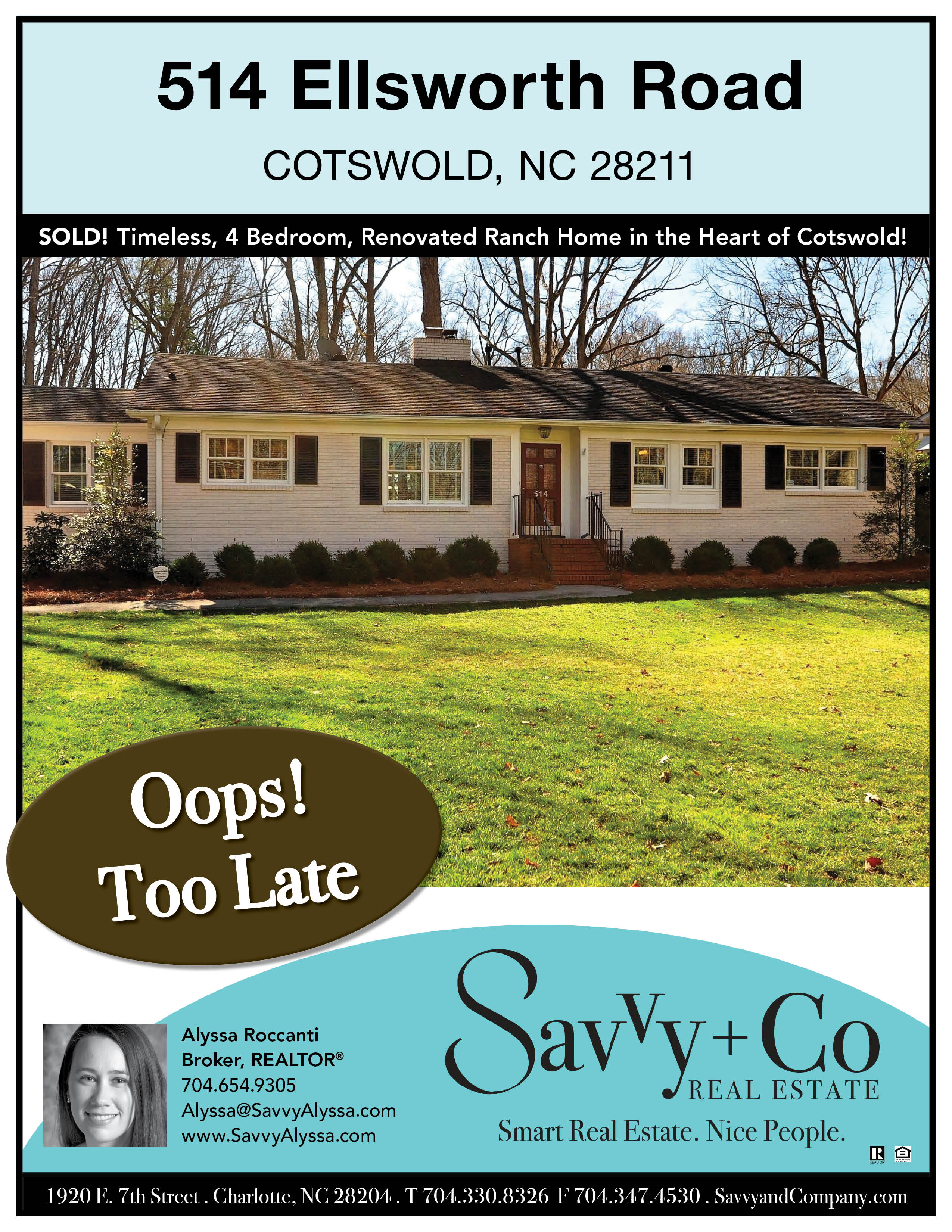 Cotswold home in Charlotte NC