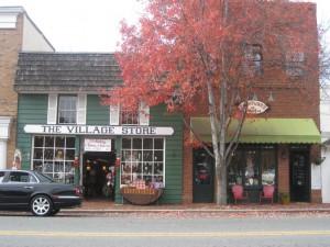 Downtown Davidson in Davidson NC
