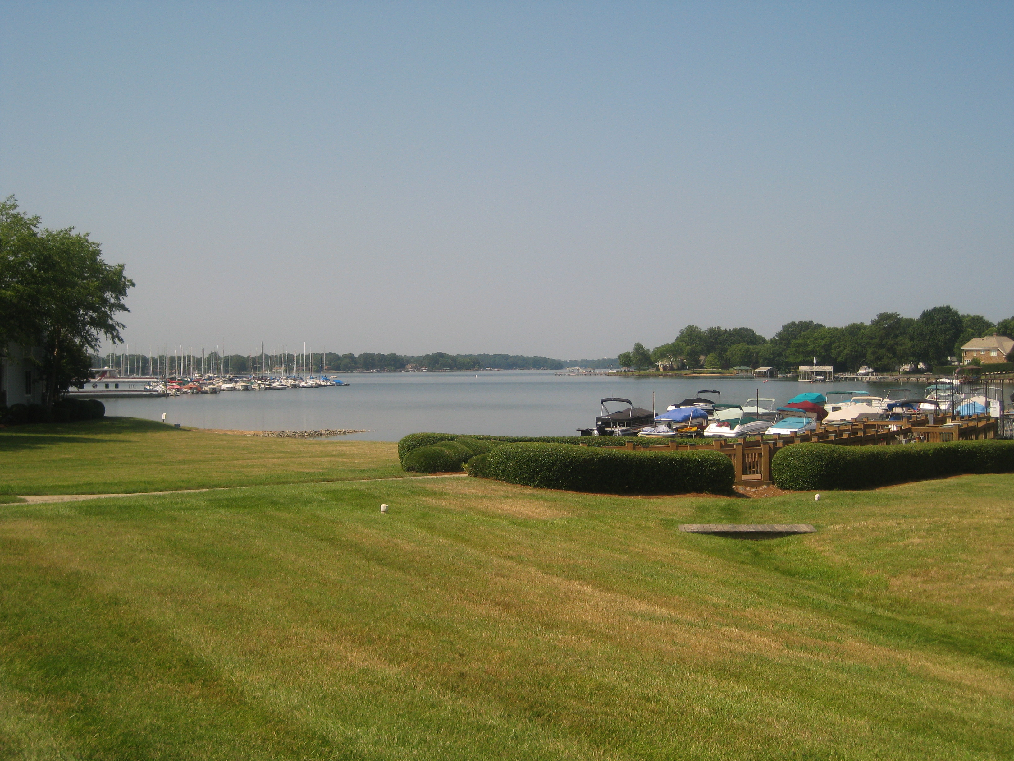 Restaurants On Lake Norman What A View